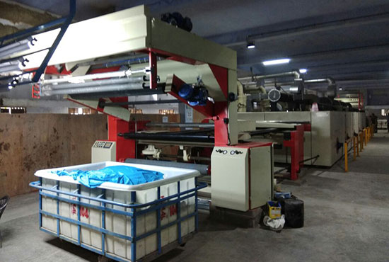 Smartflow Stenter Machine